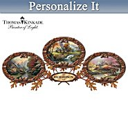 The Bradford Exchange Wall Decor Collection: Thomas Kinkade The Warmth Of Home Personalized Canvas Print Wall Decor Collection at Sears.com