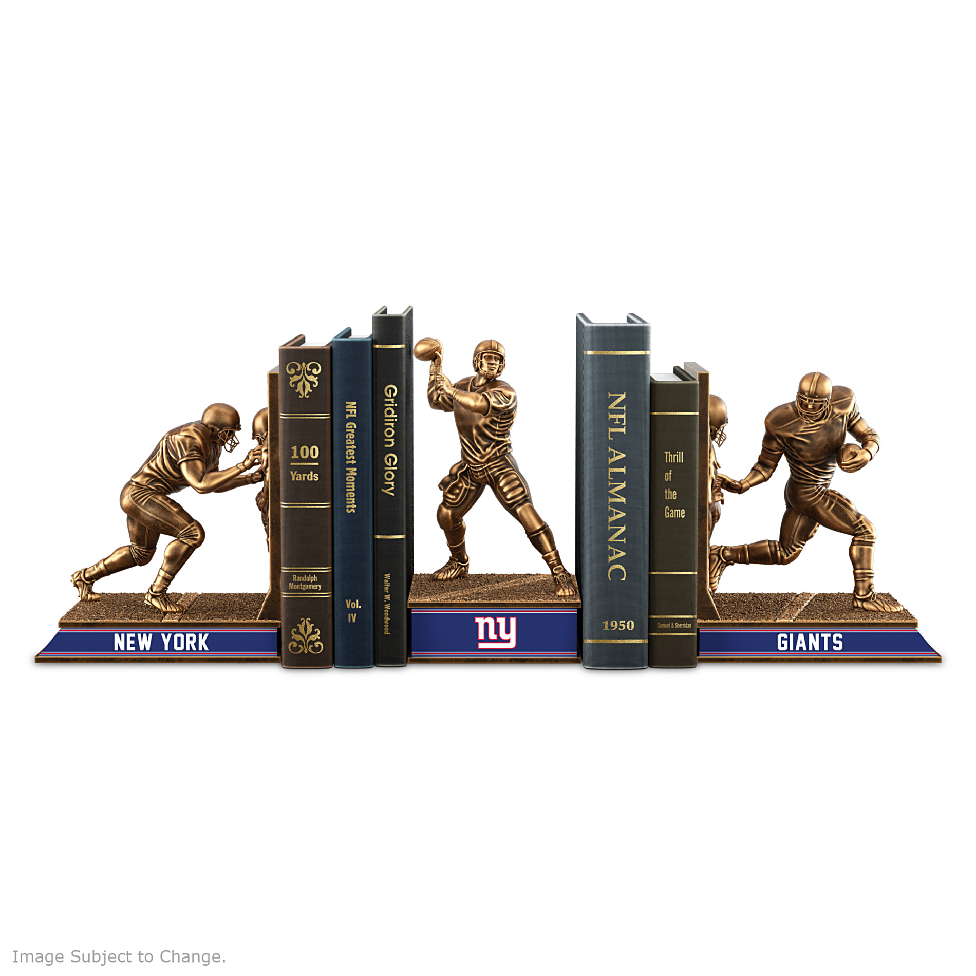 The Bradford Exchange Bookends: New York Giants Legacy Bookends Collection at Sears.com