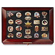 The Bradford Exchange John Wayne Tribute Pin Collection Featuring American Legend, The Duke at Sears.com