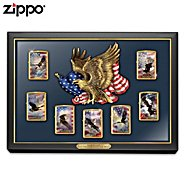 The Bradford Exchange Lighters: Let Freedom Light The Way Zippo Lighter Collection Featuring Ted Blaylock Art at Sears.com