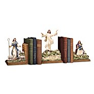The Bradford Exchange Jesus Is Always With Me Bookends Collection at Sears.com