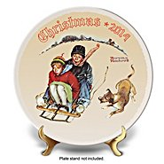 The Bradford Exchange Collector Plates: Rockwell Christmas Annual Collector Plate Collection at Sears.com
