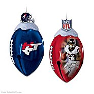 The Bradford Exchange Ornaments: Houston Texans FootBells Ornament Collection at Sears.com