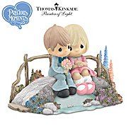 The Hamilton Collection Thomas Kinkade Precious Moments Figurine Collection: Precious Gardens Of Light Figurine at Sears.com