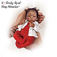 The Ashton Drake Galleries Tiny Miracles Their Own Little World African American Miniature Baby Doll Collection at Sears.com