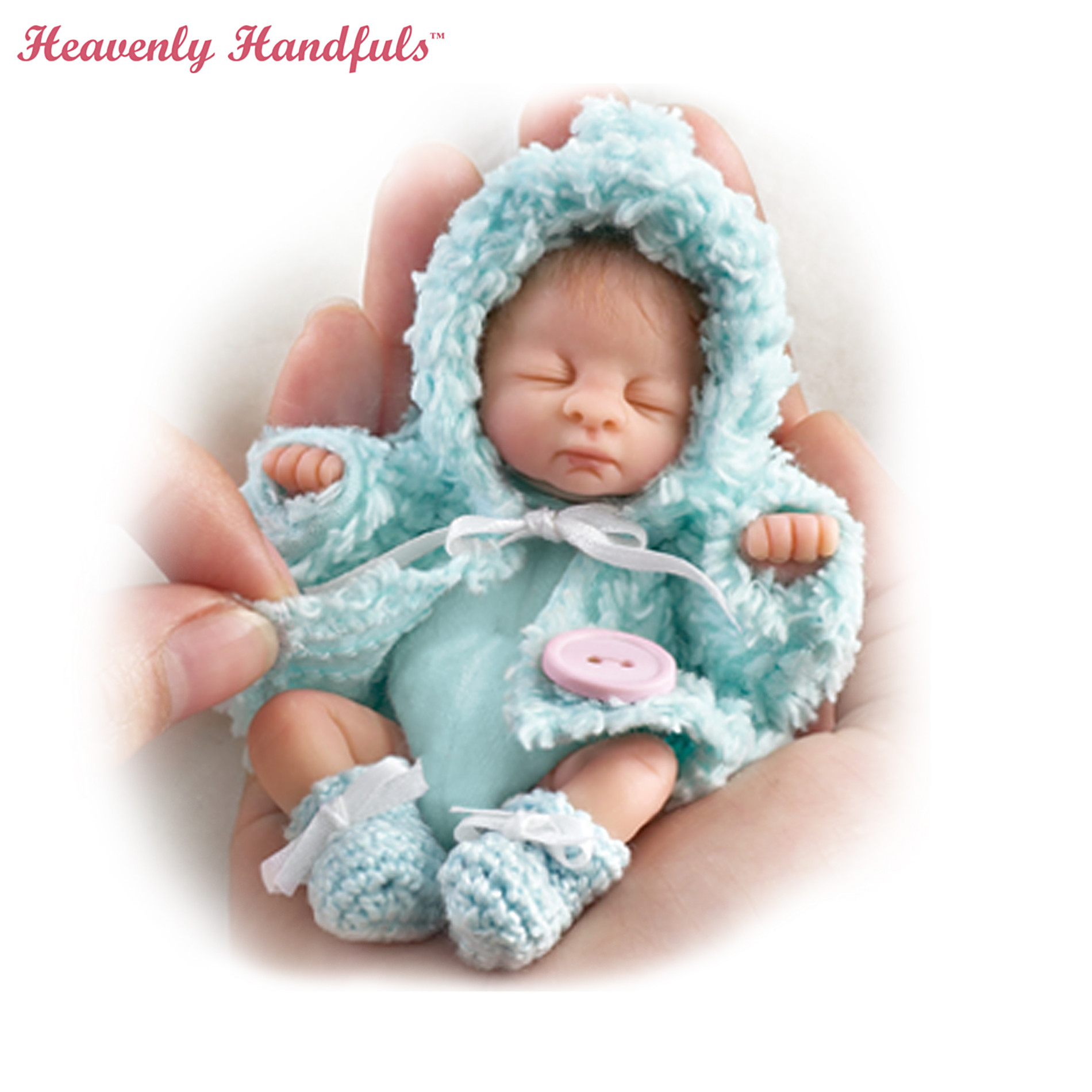 The Ashton-Drake Galleries Poseable Miniature Baby Doll Collection: Heavenly Handfuls Sweet As You Please at Sears.com