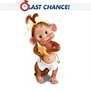 The Ashton Drake Galleries Just A Little Monkey Business Miniature Monkey Collectible Figurine Collection at Sears.com
