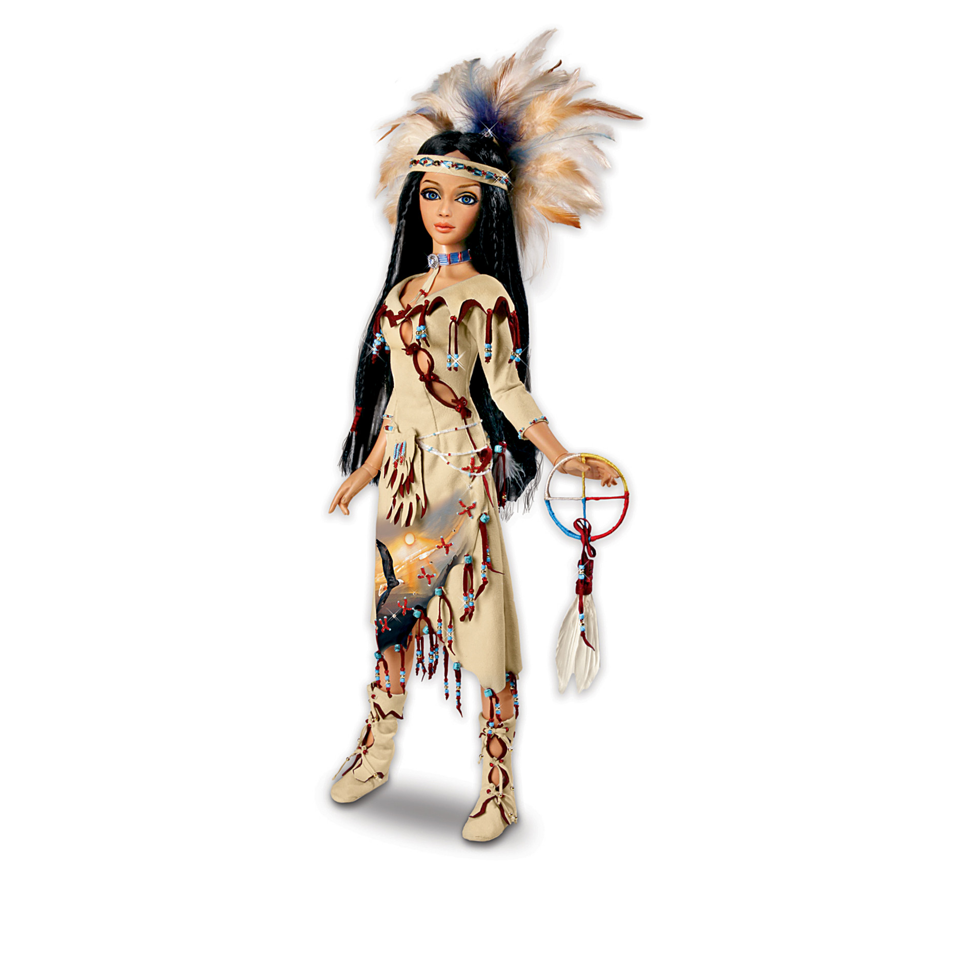 The Ashton Drake Galleries Sacred Maidens Of The Healing Spirit Ball-Jointed Doll Collection at Sears.com