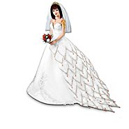 The Ashton Drake Galleries The Fire And Ice Dragon Tattoo Fantasy Bride Doll Collection at Sears.com