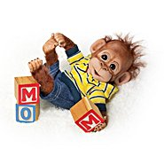 The Ashton Drake Galleries Baby Ape Doll Collection: Happy Handfuls Of Fun at Sears.com