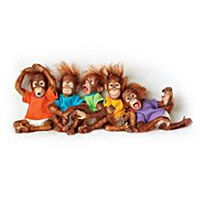 The Ashton Drake Galleries Monkey Baby Doll Collection: Lil' Bunches Of Fun at Sears.com