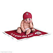 The Ashton-Drake Galleries Ohio State Buckeyes #1 Fan Commemorative Baby Doll Collection at Sears.com