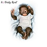 The Ashton Drake Galleries Realistic Baby Monkey Doll Collection: Zoo Cute For Words at Sears.com