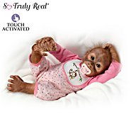 The Ashton Drake Galleries Baby Monkey Doll Collection: Touch Your Heart at Sears.com