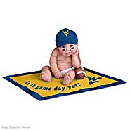 The Ashton Drake Galleries Dolls: West Virginia Mountaineers #1 Fan Baby Doll Collection at Sears.com