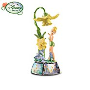 Ardleigh Elliott Disney Tinker Bell Collectible Floral Light Musical Table Lamp Collection at Sears.com