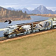 Hawthorne Village Wings Of Majesty Express Bald Eagle Art Train Collection at Sears.com