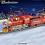 Hawthorne Village Budweiser Electric Christmas Train Collection: Budweiser Holiday Express at Sears.com