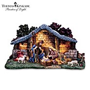 Hawthorne Village Thomas Kinkade Star Of Hope Nativity Collection With Super Starter Set at Sears.com