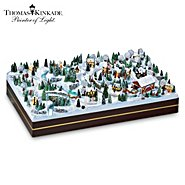 Hawthorne Village Thomas Kinkade Village Christmas Miniatures Collection at Sears.com