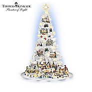 Hawthorne Village The Illuminated Thomas Kinkade Village Christmas Tree Collection at Sears.com