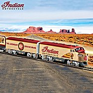 Hawthorne Village Indian Motorcycle Express Collectible HO-Scale Electric Train Collection at Sears.com