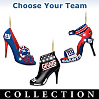 NFL Steppin' Out Stiletto Ornament Collection