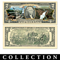 U.S. $2 National Parks Bills Currency Collection