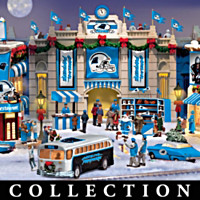 Carolina Panthers Christmas Village Collection