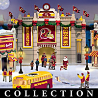 Washington Redskins Christmas Village Collection
