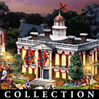 Collectible Civil War Era Decorative Village Collection