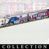New York Giants Super Bowl Express Train Collection