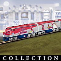 St. Louis Cardinals World Series Champions Train Collection