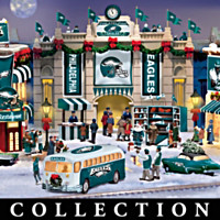 Philadelphia Eagles Christmas Village Collection