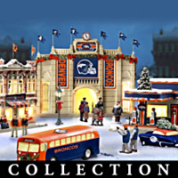 Denver Broncos Christmas Village Collection