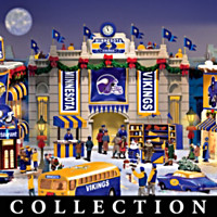 Minnesota Vikings Christmas Village Collection