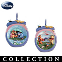 Pooh's Honeypot Adventures Ornament Collection: Sets Of Two