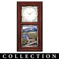 Al Agnew Timeless Wilderness Clock Collection