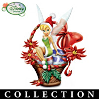Tinker Bell Holiday Baskets Figurine Collection