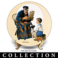 Norman Rockwell Society Heritage Collector Plate Collection