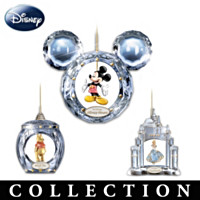 Ultimate Disney Crystal Reflections Ornament Collection