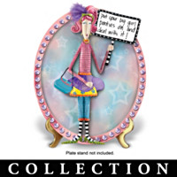 Dolly Mama's Jeweled Contem-Plates Plate Collection