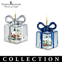 Thomas Kinkade Gifts For The Holidays Ornament Collection