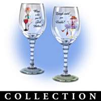 Dolly Mama's Happy Hour Glassware Collection: Sets Of Two