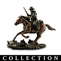 John Wayne: Tall In The Saddle Sculpture Collection