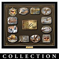 John Wayne Belt Buckle Wall Decor Collection
