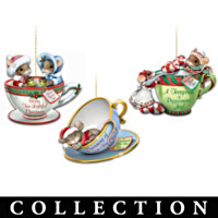 O' Christmas Tea! Charming Tails Ornament Collection
