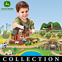 Welcome To The Farm Wooden Play Set Collection