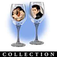 Cheers To A Legend Wine Glassware Collection