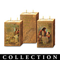 Footprints Of Faith Candleholder Collection